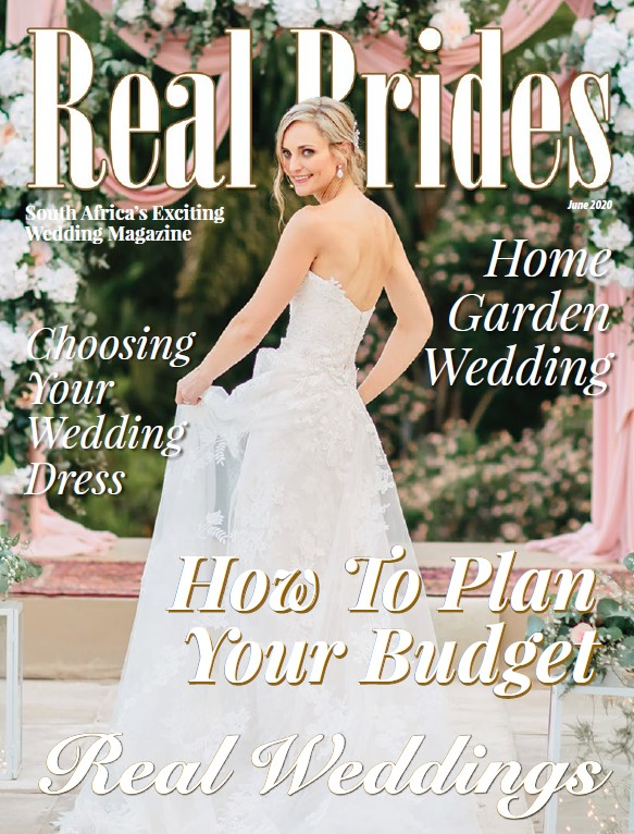 Real Brides June 2020 cover